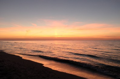Diese Sonnenuntergänge sind einfach atemberaubend